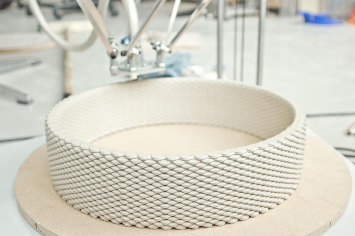 پرینت سه بعدی سرامیک