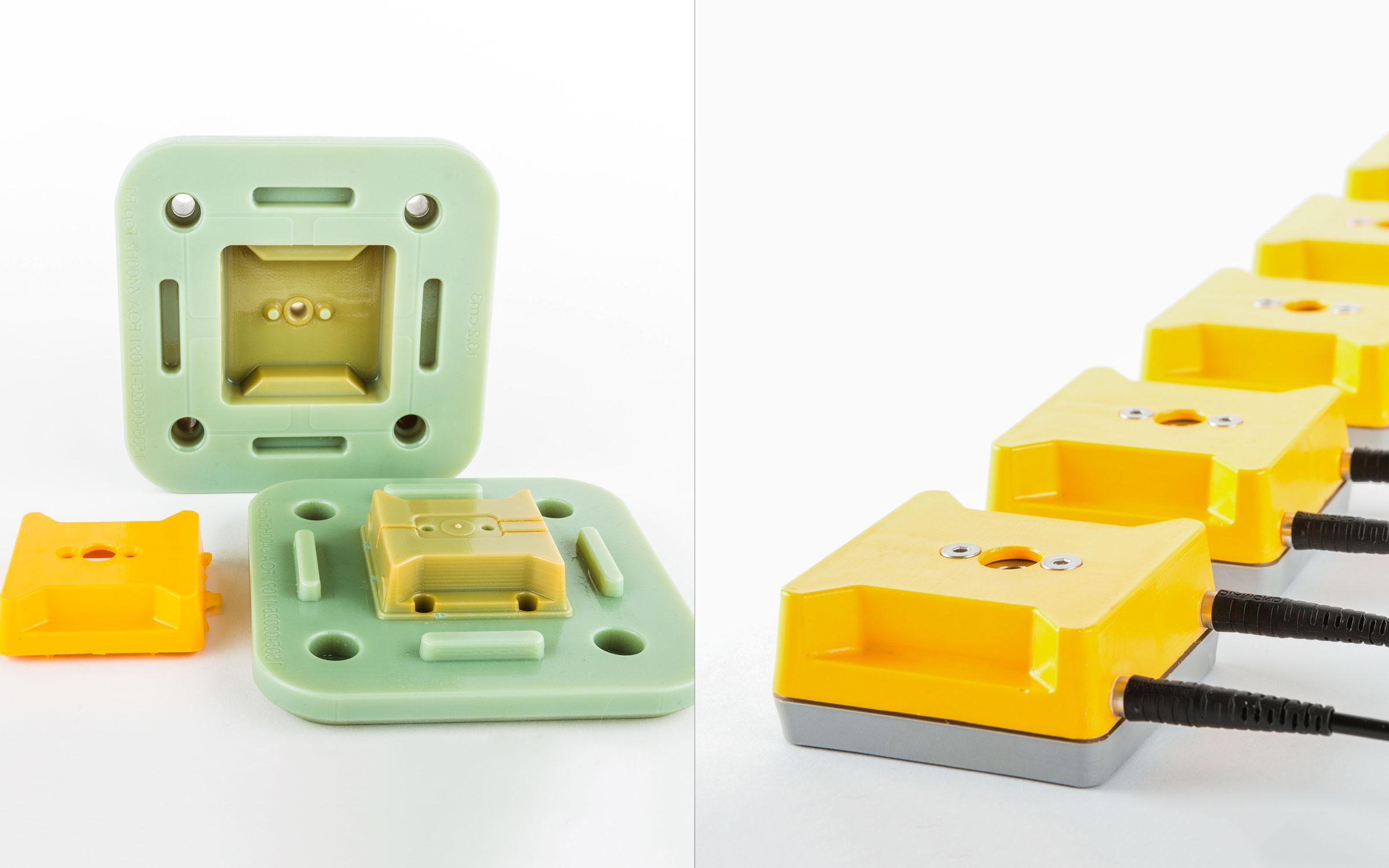 پرینت سه بعدی قالب در اندازه های مختلف